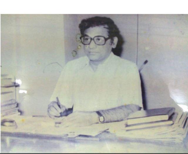 "Composer of KVS Song ""Bharat ka swarnim Gaurav"" Shri Surendar Kumar"